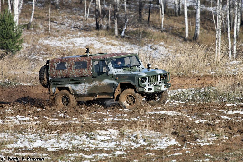 Легкий небронированный штурмовой автомобиль Скорпион-2М (Light assault vehicle Skorpion-2M)