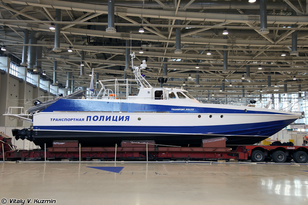 Патрульный катер проекта 12150 Мангуст (Project 12150 Mangust patrol boat)