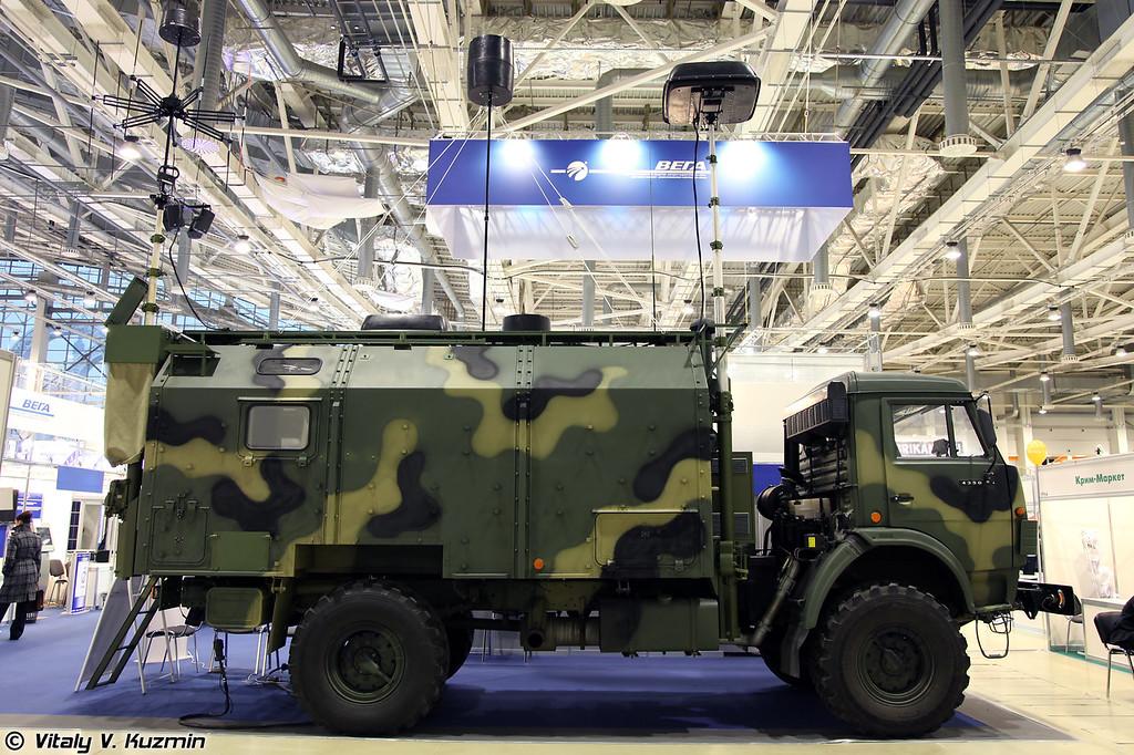 Мобильный автоматизированный комплекс радио/радиотехнического и специального контроля эффективности защиты информации и оценки электромагнитной обстановки МКТК-1А Дзюдоист (MKTK-1A Judoist ECM vehicle)