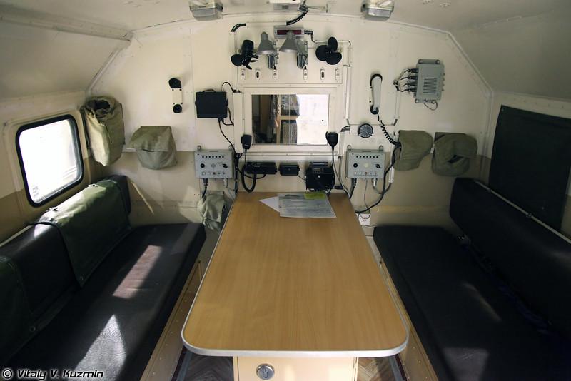 Командно-штабная машина Р-142НСА (R-142NSA command vehicle)
