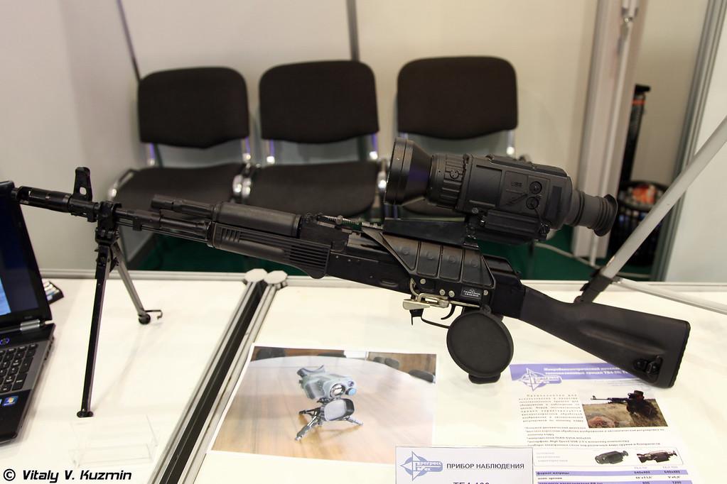 Тепловизионный прицел ТБ4-100 (Thermal weapon sight TB4-100)