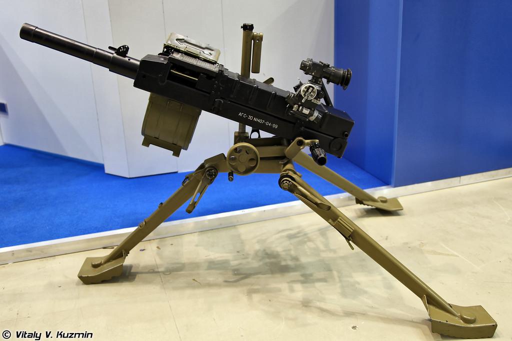 Гранатомет АГС-30 (AGS-30 grenade launcher)