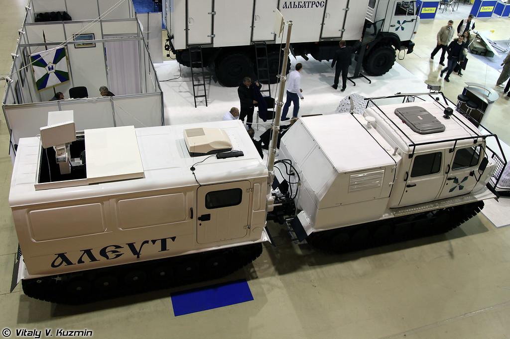 Подвижный комплекс мониторинга обстановки Алеут (Mobile surveillance system Aleut)