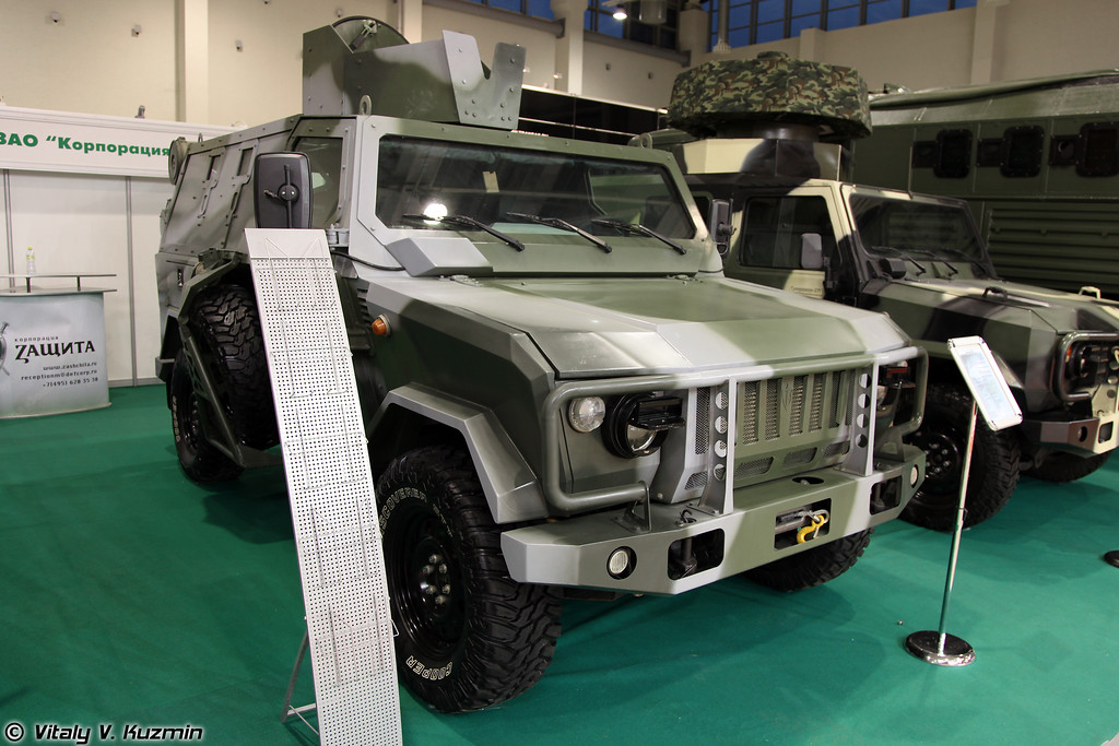 Бронеавтомобиль Скорпион-ЛША Б (Skorpion LShA B armored vehicle)