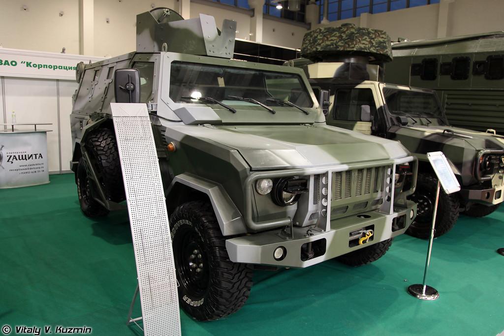 Бронеавтомобиль Скорпион-ЛША Б (Skorpion LShA B armored vehicle)