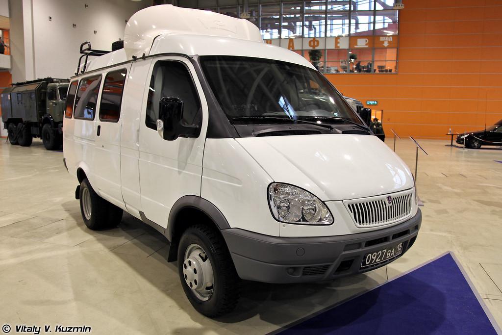 Бронеавтомобиль ГАЗ-27057 Ратник (GAZ-27057 Ratnik)