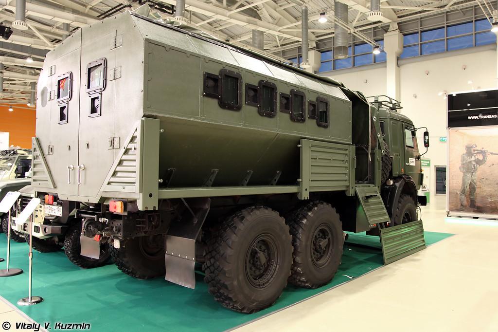 Бронеавтомобиль СБА-60 на базе КАМАЗ-5350 (SBA-60 on KAMAZ-5350 chassis)