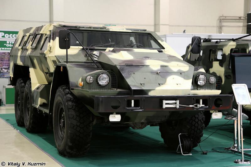 Бронеавтомобиль СБА-60-К2 Булат на базе КАМАЗ-5350 (SBA-60-K2 Bulat on KAMAZ-5350 chassis)