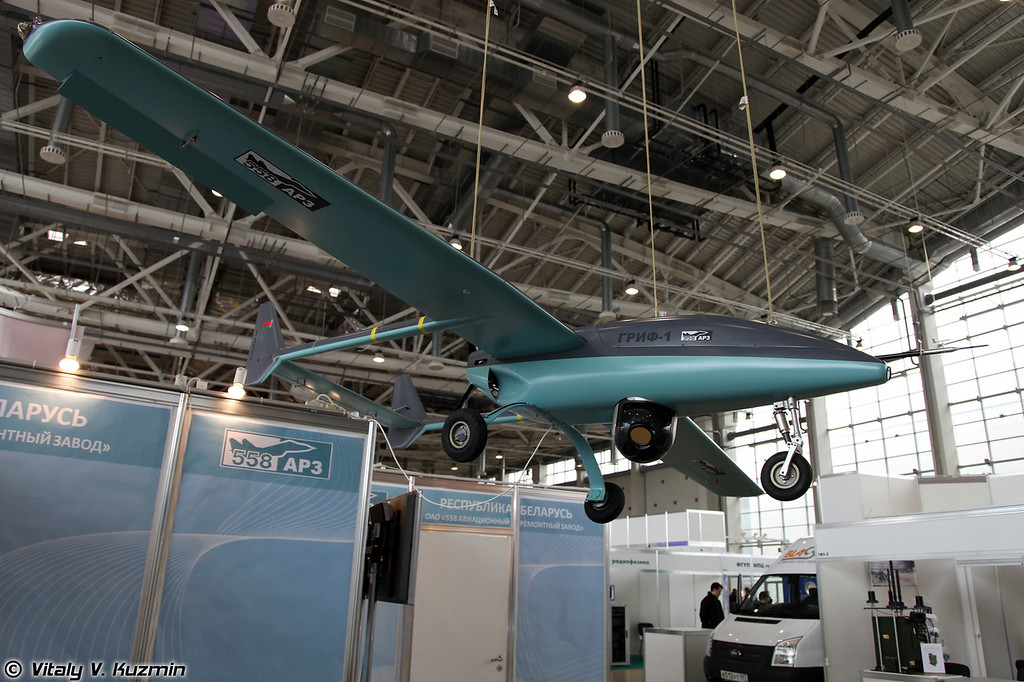 БПЛА Гриф-1 (Belorussian Grif-1 UAV)