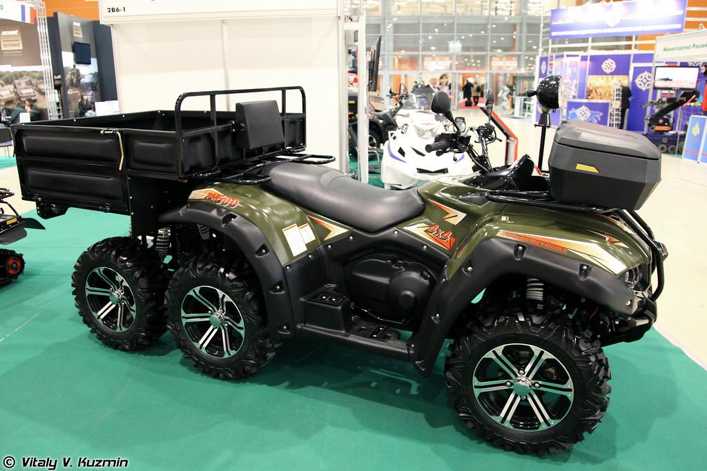 Мотовездеход РМ500 6х4 (RM500 6x4 ATV)