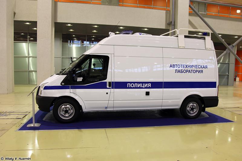 Лаборатория автотехнической экспертизы (Mobile police lab)