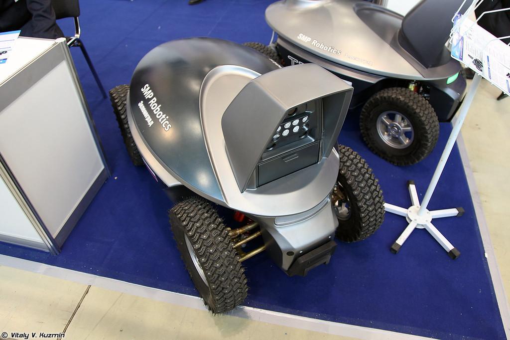 Беспилотное наземное транспортное средство SRX-1 (Unmanned ground vehicle SRX-1)