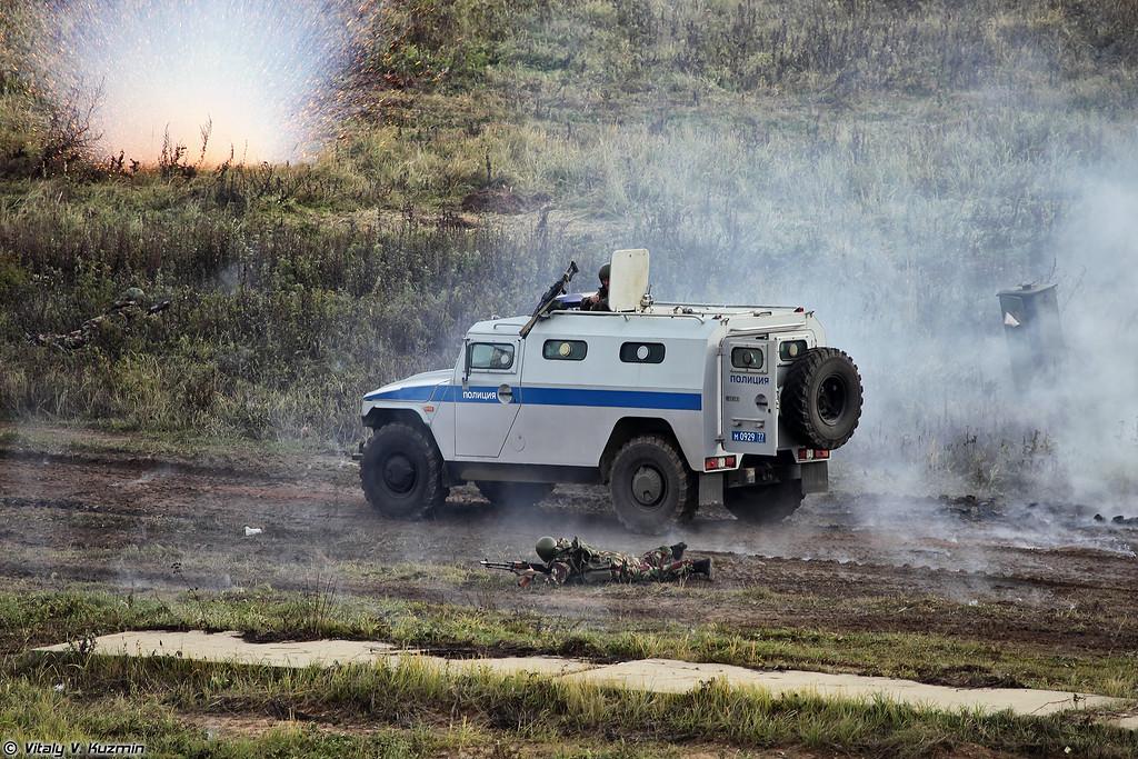 Нападение на колонну ОМОН Зубр (OMON Zubr convoy ambush)