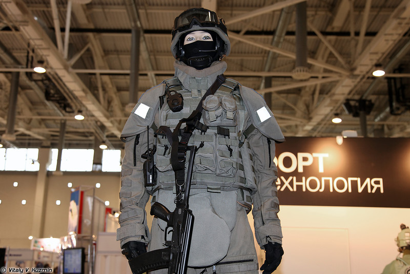 Комплект от ФОРТ Технология (FORT Technology body armor kit)