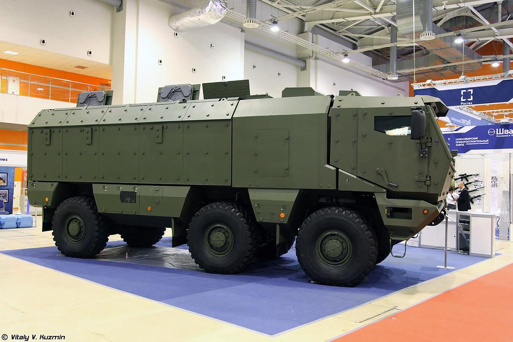 Бронеавтомобиль КАМАЗ-63968 Тайфун (KAMAZ-63968 Typhoon MRAP vehicle)