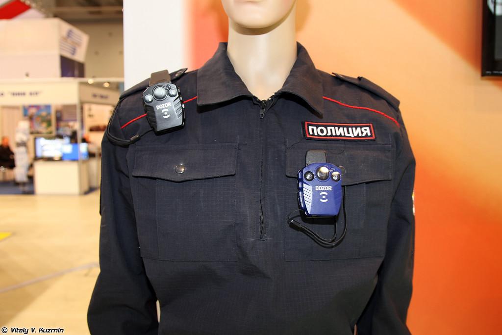 Персональный носимый видеорегистратор ПАТРУЛЬВИДЕО-ДОЗОР (PATRULVIDEO-DOZOR personal camera)