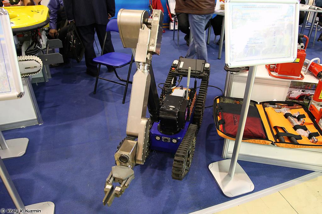 Мобильный робототехнический комплекс TeleMAX (TeleMAX robot)