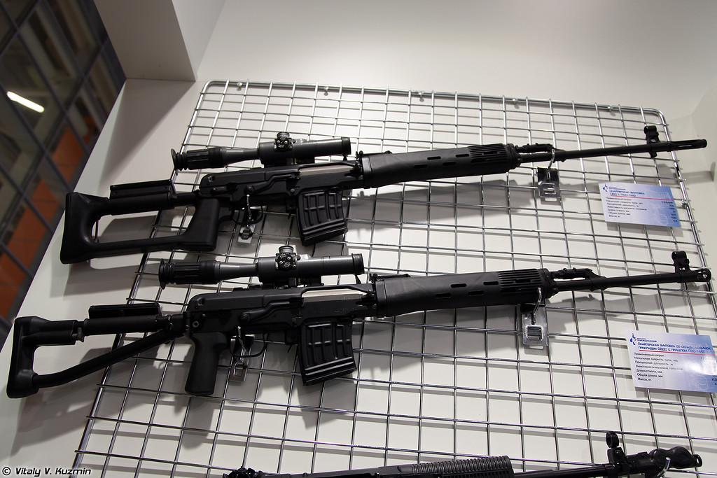 Снайперские винтовки СВД и СВДС (SVD and SVDS sniper rifles)