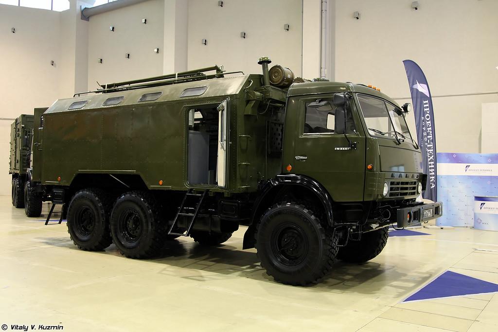 Подвижная мастерская ПМ-РХБЗ-1 (PM-RKhBZ-1 mobile repair and maintenance vehicle)