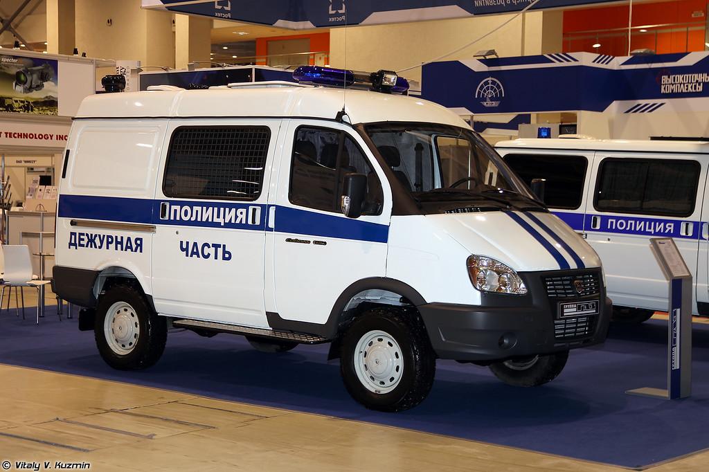 Административно-дежурная часть на базе ГАЗ-27527-365 Соболь 4х4 (Police vehicle on GAZ-27527-365 Sobol 4x4 base)