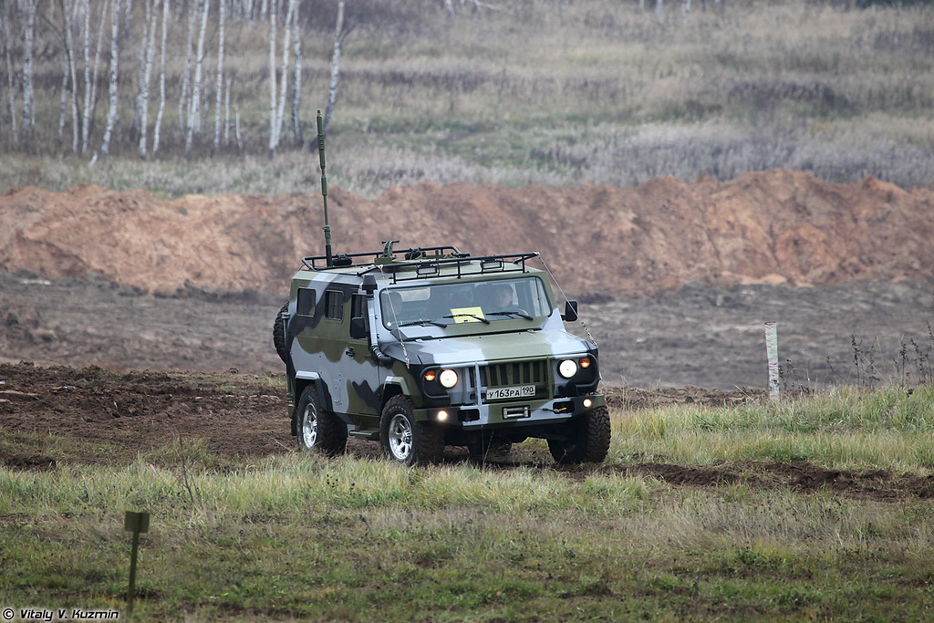 Скорпион-2М (Skorpion-2M light tactical vehicle)
