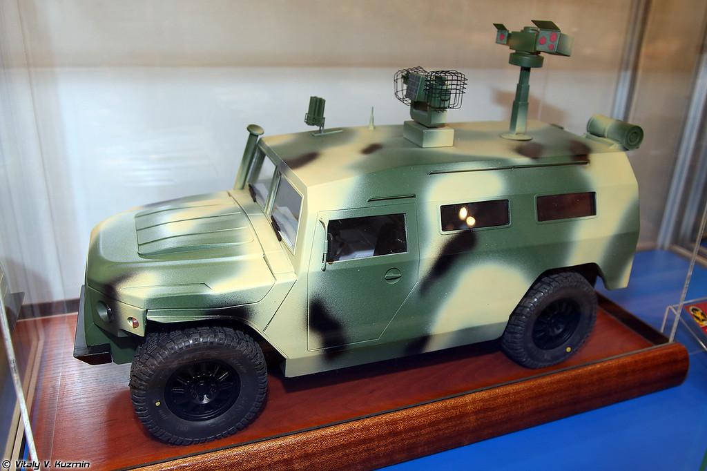 Машина РХБ разведки РХМ-ВВ в рамках ОКР Разруха-1 (NBC reconnaissance vehicle RKhM-VV)