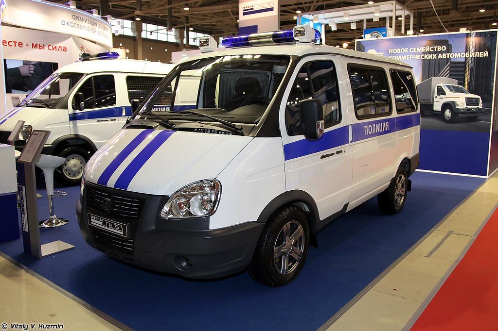 Автомобиль ППС на базе ГАЗ-2217-344 Соболь (Police patrol vehicle GAZ-2217-344 Sobol)