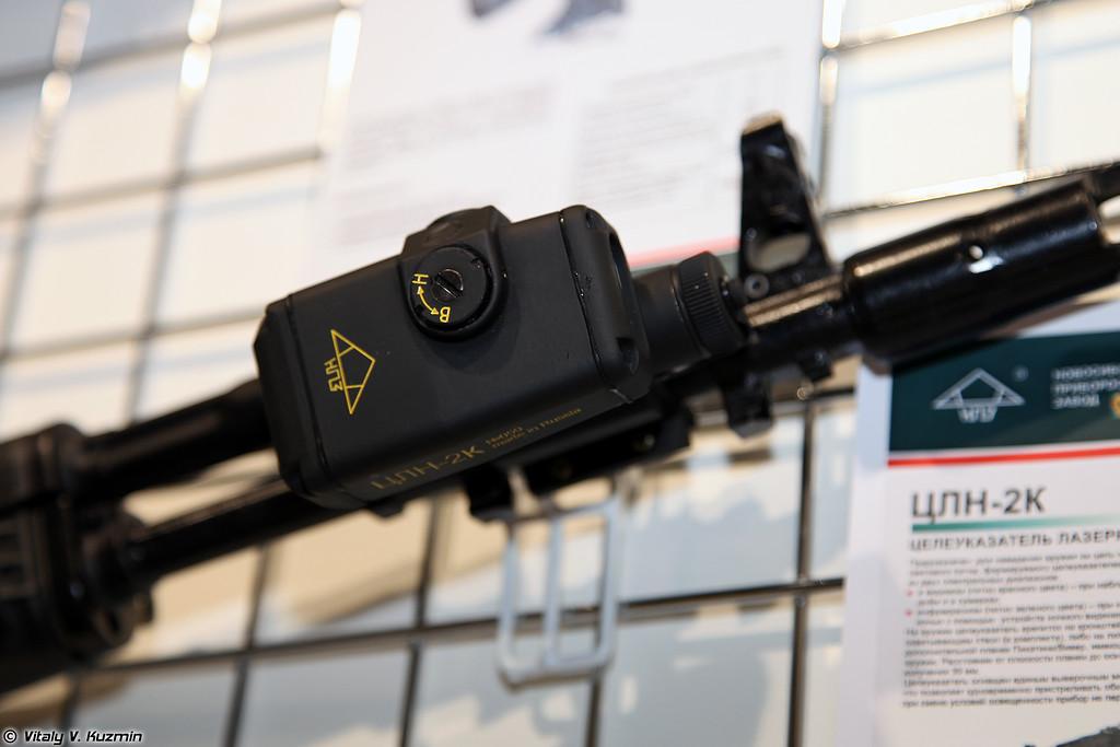 Лазерный целеуказатель ЦЛН-2К (TsLN-2K laser sight)