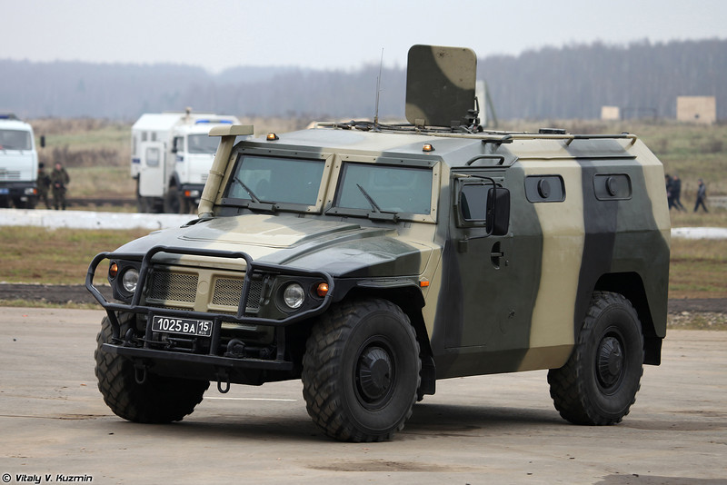 ГАЗ-233036 СПМ-2 (GAZ-233036 SPM-2 armored vehicle)