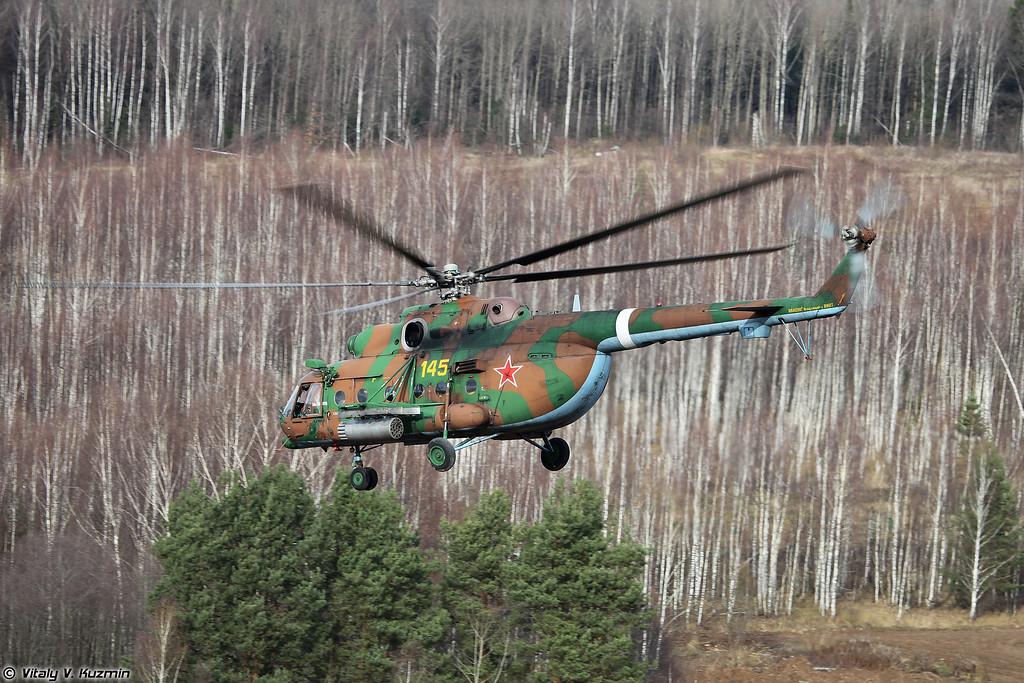 Высадка подкрепления с Ми-8АМТШ (Landing of reinforcement from Mi-8AMTSh)