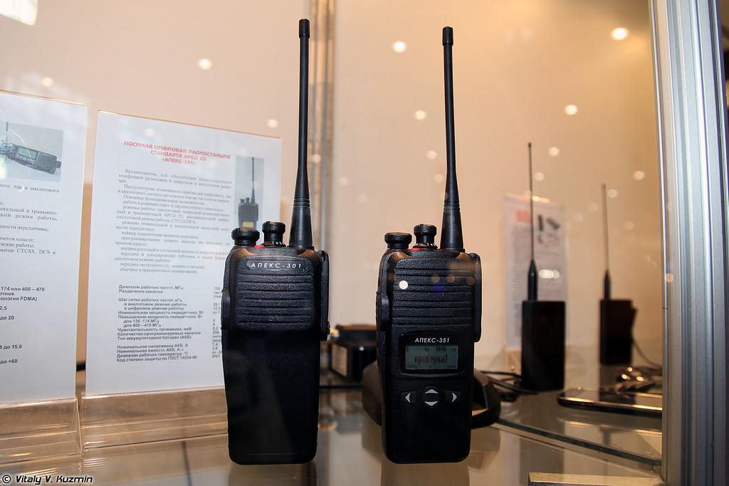 Радиостанции Апекс-301 и Апекс-351 (Apeks-301 and 351 radio)