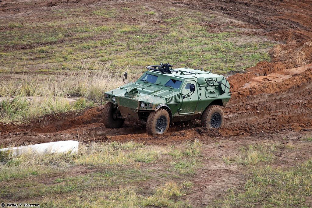 Бронеавтомобиль VBL, который планируется собирать на челнинском предприятии АСТЕЙС (VBL light tactical vehicle)