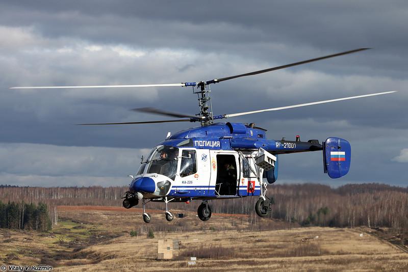 Kа-226 авиационного отряда ЦСН ГУ МВД по г.Москве (Moscow police Ka-226)