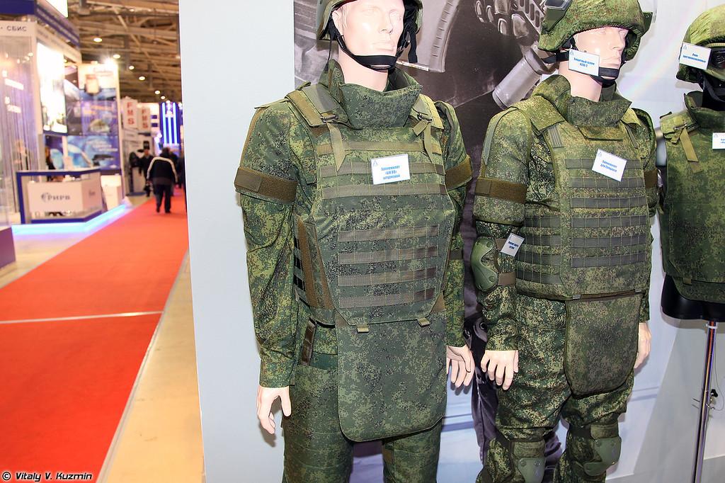 Штурмовой бронежилет БЖ-ВВ (Assault bulletproof vest BZh-VV)
