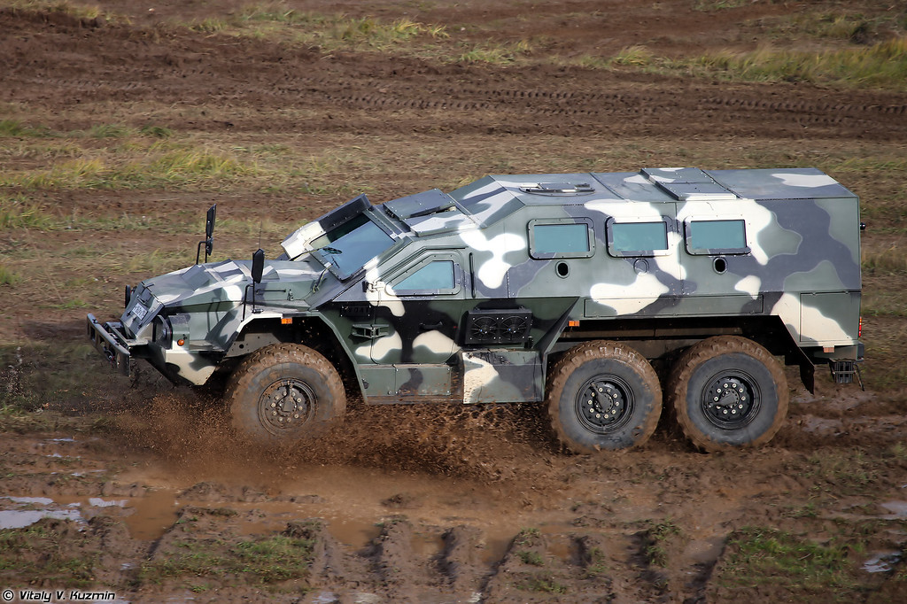 Бронеавтомобиль СБА-60К2 Булат (SBA-60K2 Bulat armored vehicle)
