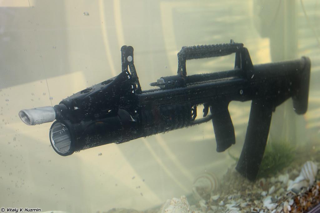 Автомат двухсредный специальный АДС (ADS amphibious rifle)