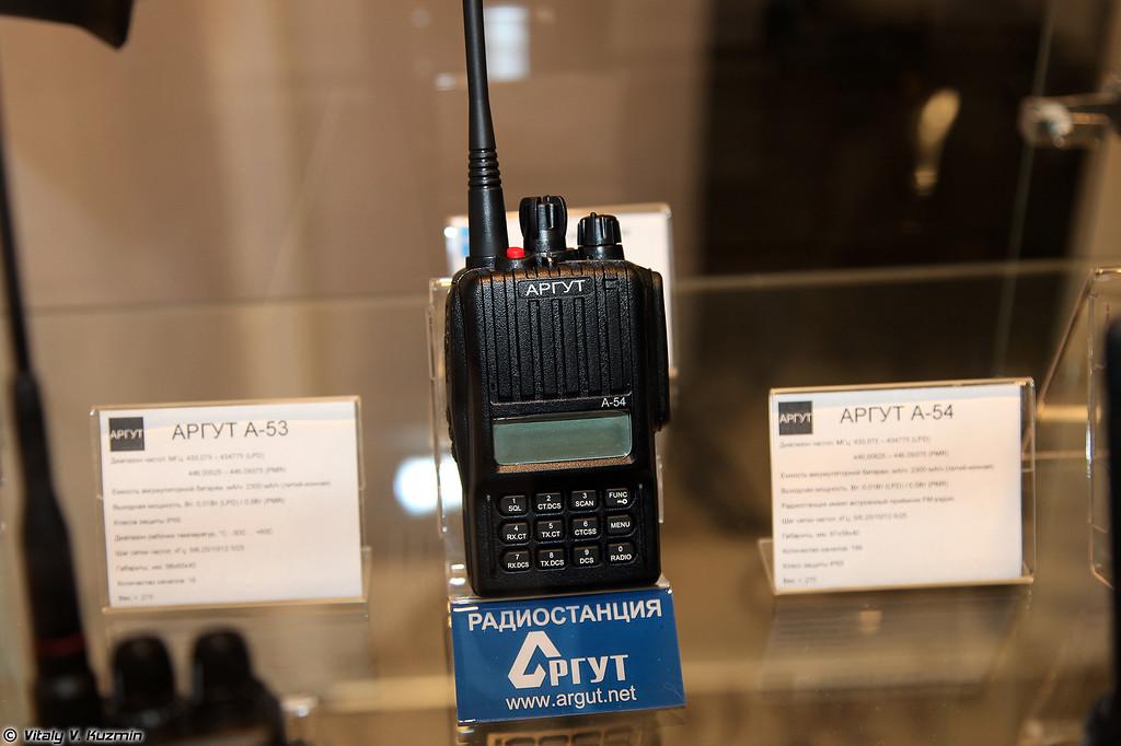 Радиостанция АРГУТ А-54 (ARGUT A-54 radio)
