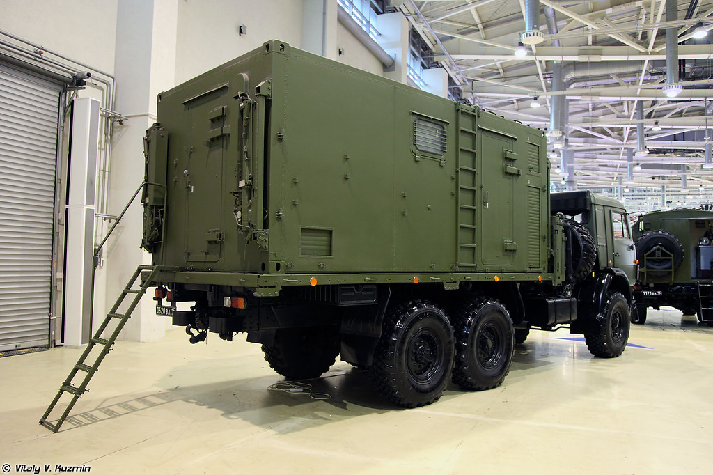 Мастерская технического ремонта и обслуживания МТО-УБ2К (MTO-UB2K repair and maintenance vehicle)