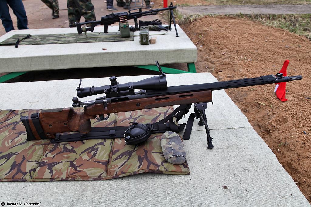 Снайперская винтовка МЦ-116М (MTs-116M sniper rifle)