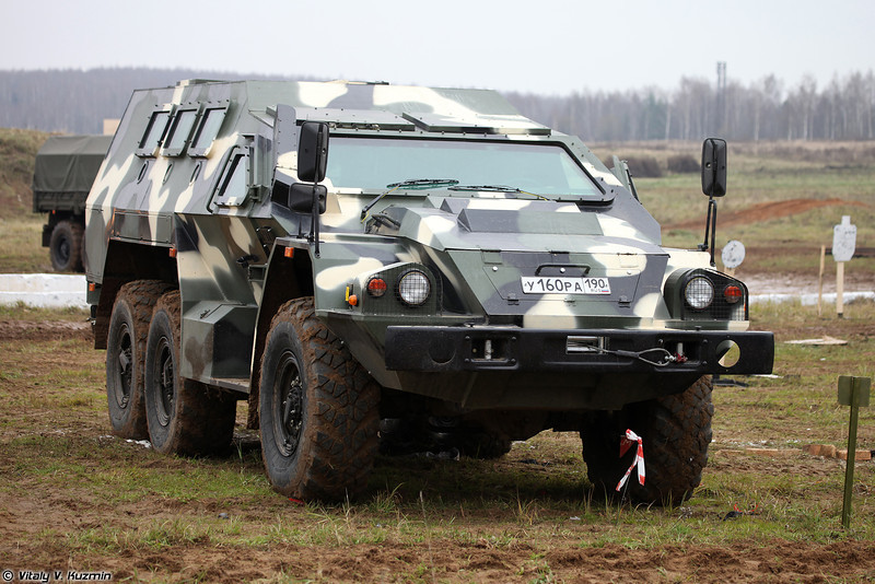 Бронеавтомобиль СБА-60К2 Булат (SBA-60K2 Bulat armored vehicle)