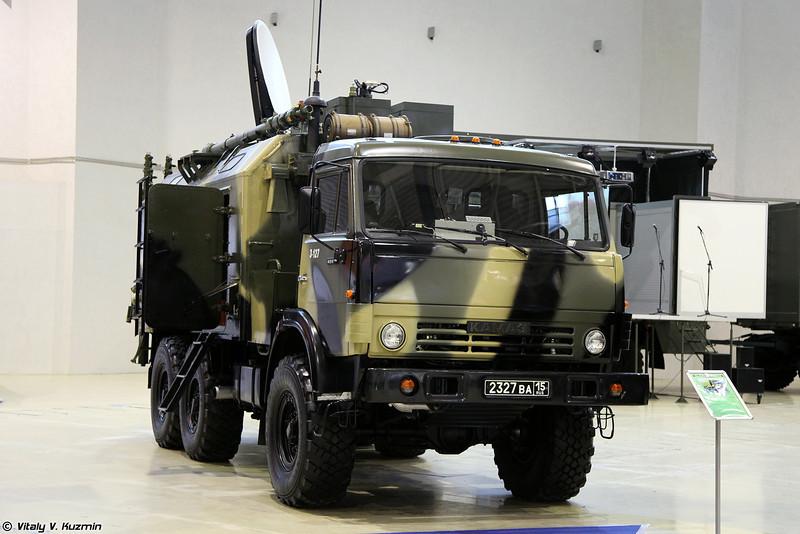 Комплексная аппаратная связи П-144МСН (Signal vehicle P-144MSN)