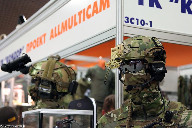 Тактикульные манекены в мультикаме (Tacticool mannequins with Multicam)
