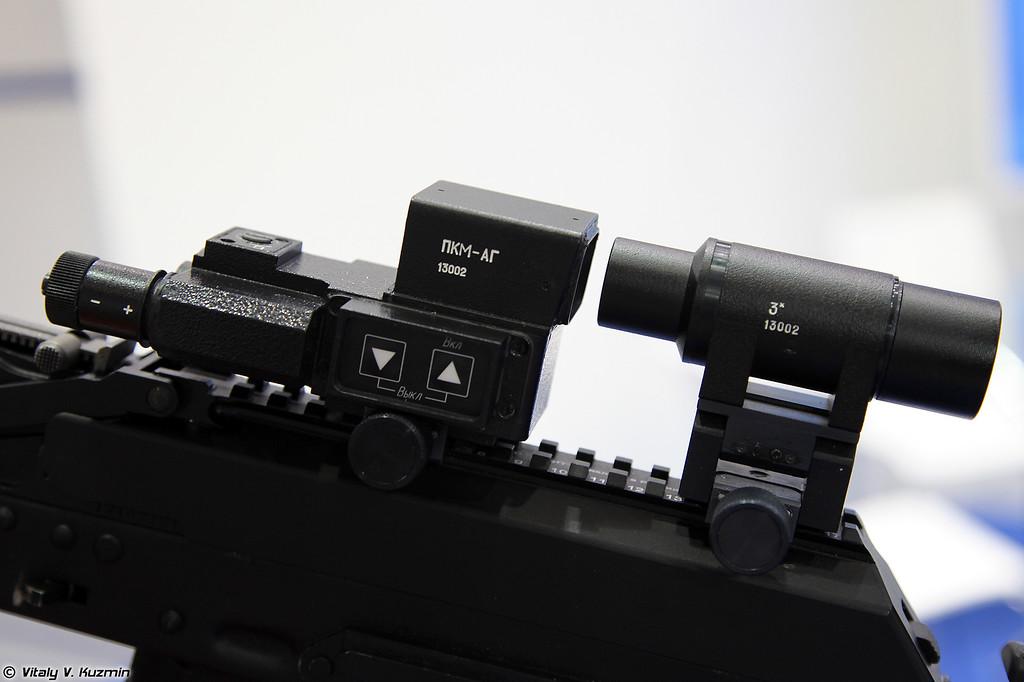 Коллиматорный прицел ПКМ-АГ (PKM-AG collimator sight)