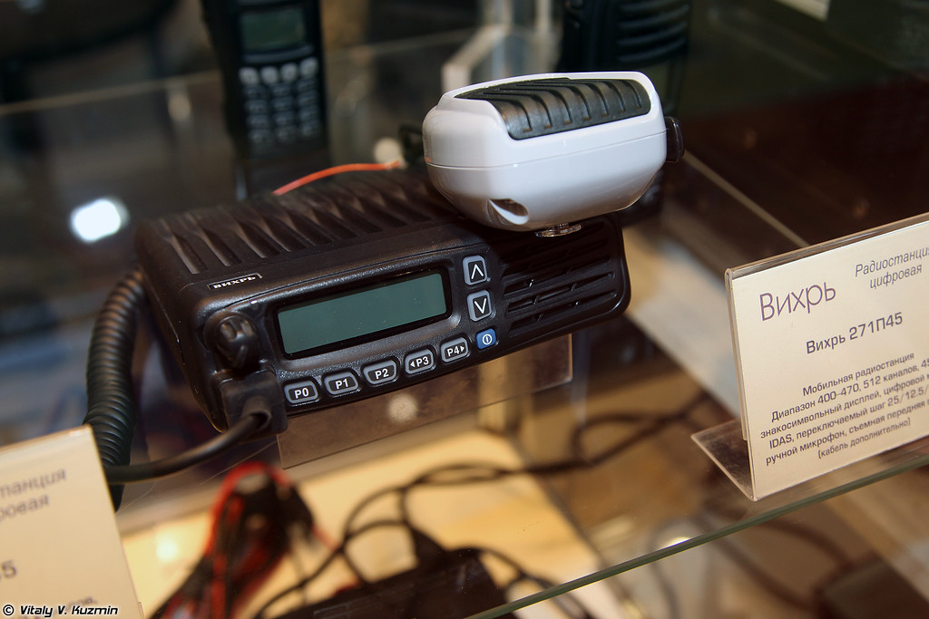 Радиостанция Вихрь 271П45 (Vikhr 271P45 radio)