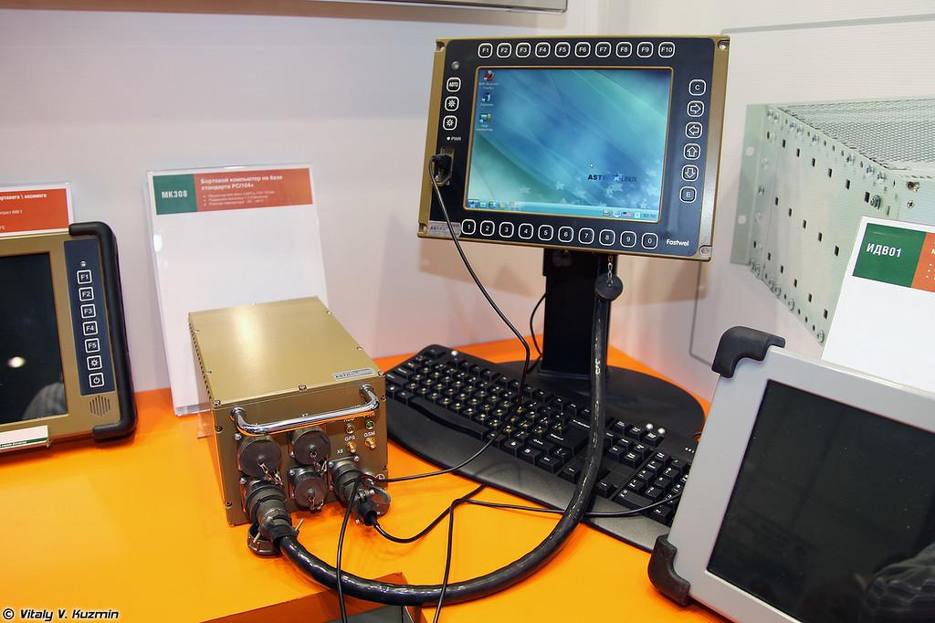 МК308 бортовой компьютер на базе стандарта PC/104+ (MK onboard computer with PC/104+)
