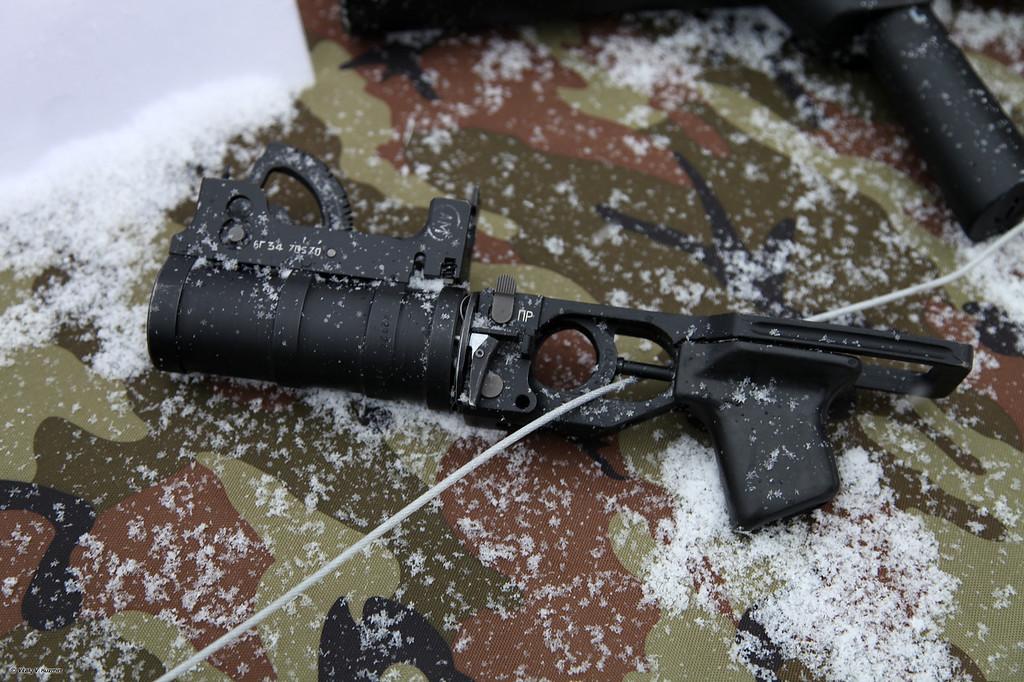 Подствольный гранатомет ГП-34 (GP-34 under barrel grenade launcher)