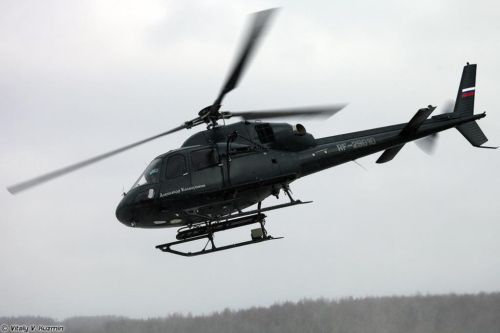 AS355N Ecureuil 2 АОСН Ястреб ЦСН СР МВД России (AS355N Ecureil 2 from Special Purpose Aviation Detachment Yastreb of Ministry of Internal Affairs)