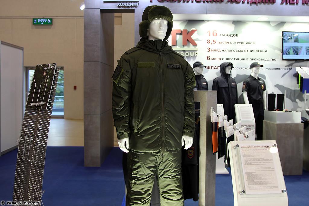 Комплект утепленный для подразделений СОБР (Winter suit for SOBR units)