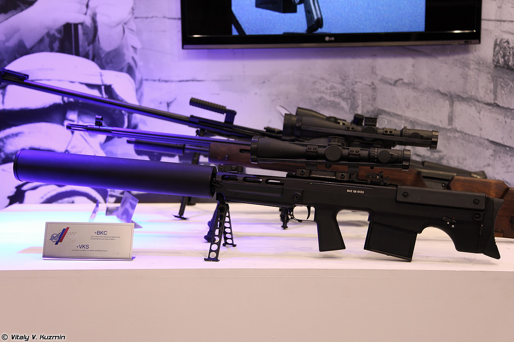 Снайперская винтовка ВКС (VKS sniper rifle)