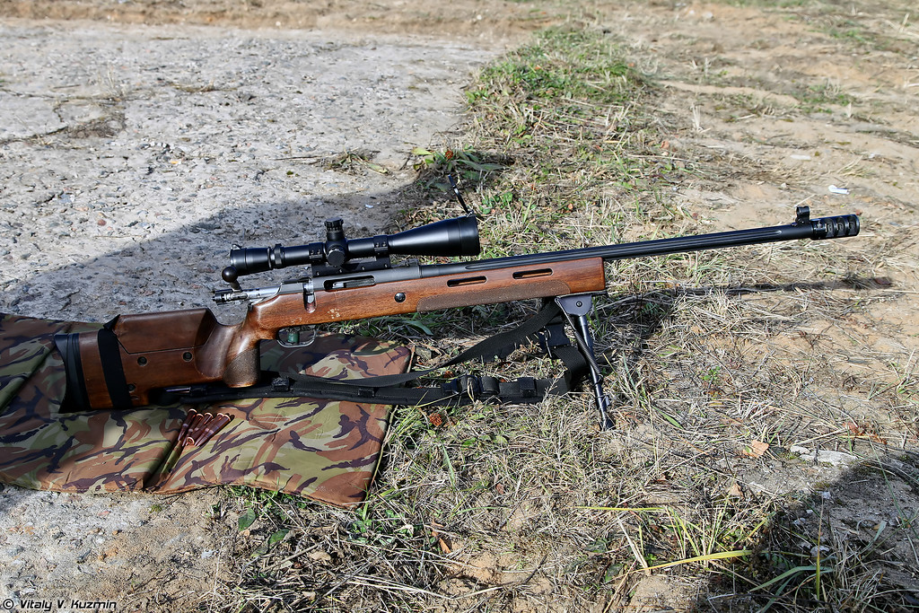 Снайперская винтовка МЦ-116М (MTs-116M sniper rifle)